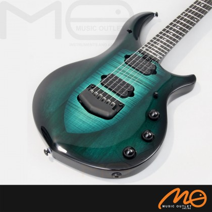 ERNIE BALL MUSIC MAN JP MAJESTY 6 STRING ELECTRIC GUITAR (ENCHANTED FOREST)