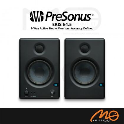 PRESONUS ERIS E4.5 2-WAY, HIGH DEFINITION POWERED STUDIO MONITOR (PAIR)