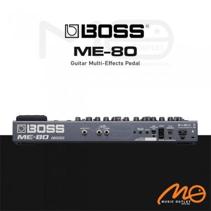 BOSS ME-80 GUITAR MULTI EFFECT PEDAL